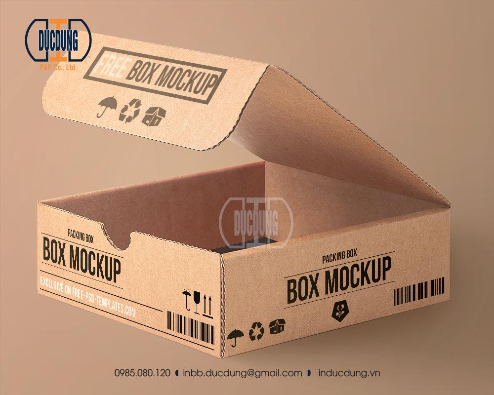 Hộp Carton 26x26x8cm