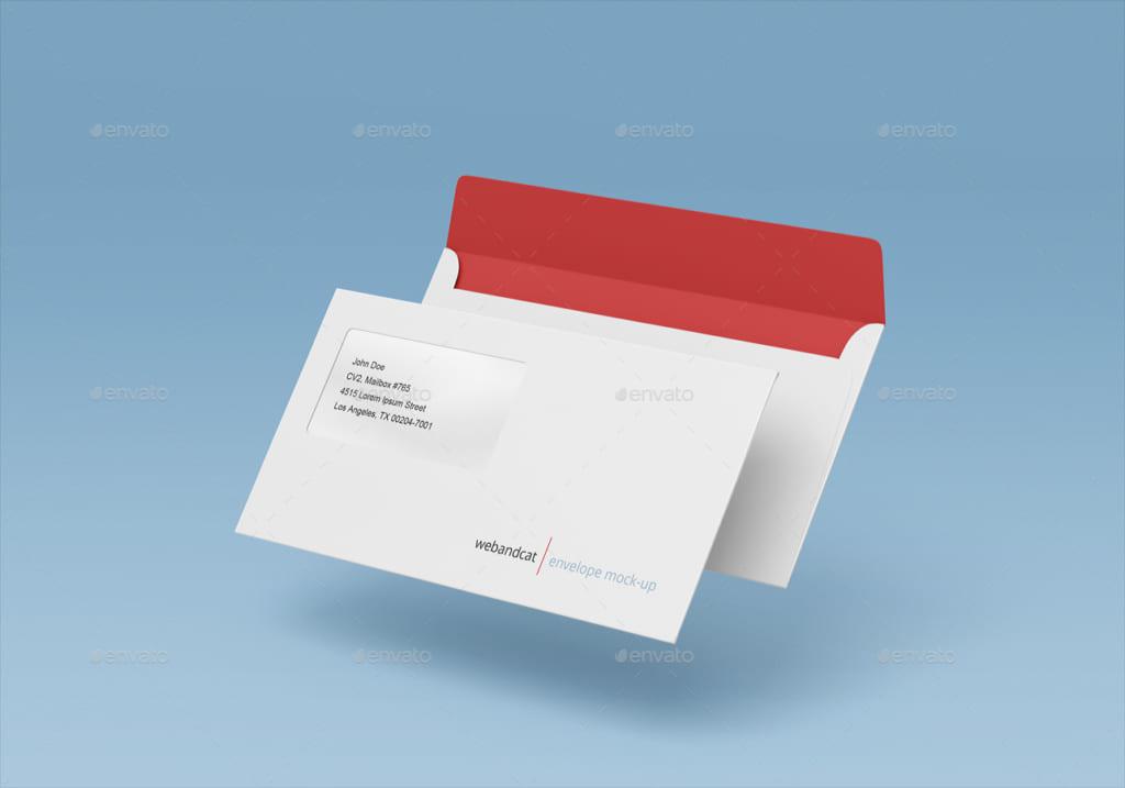 Phong bì thư A6 đơn giản