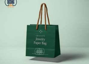 Túi giấy quai dù