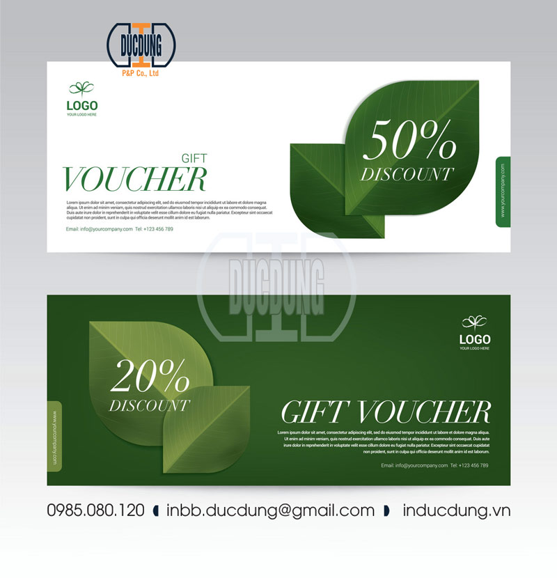gift voucher template for spa hotel resort