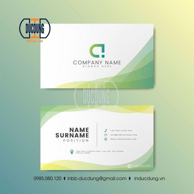 Name card NC-G-10