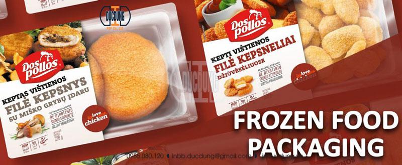 Decal cho thực phẩm đông lạnh