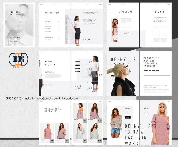 Catalogue thời trang