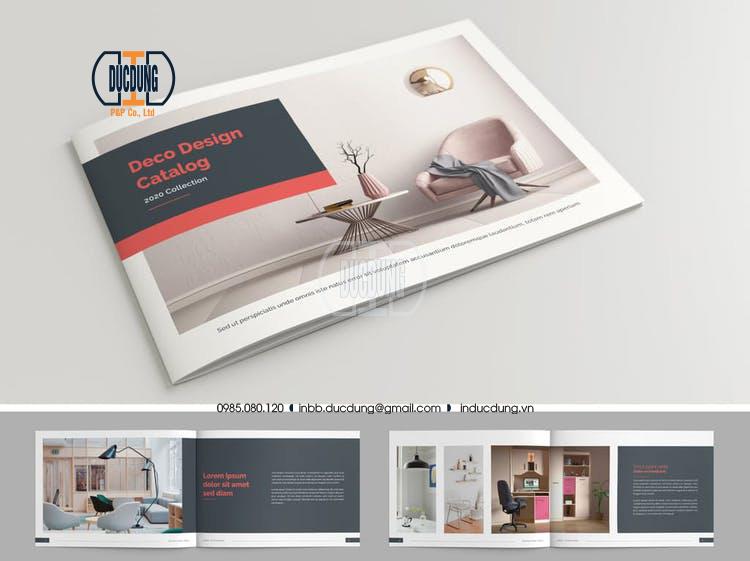 Catalogue trưng bày văn phòng