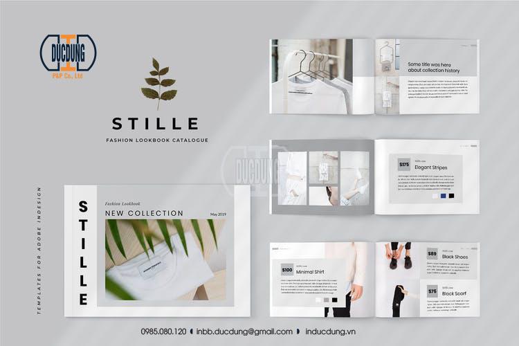 Catalogue giới thiệu sản phẩm thời trang