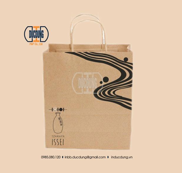 Túi giấy Kraft HB-KR-15