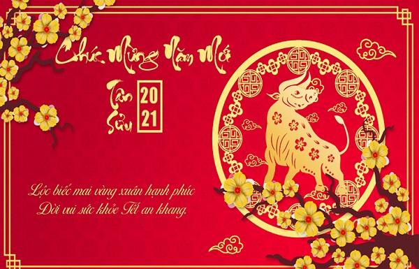 Thiệp chúc mừng năm mới 2021 - 08