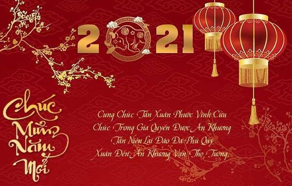 Thiệp chúc mừng năm mới 2021 - 09