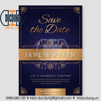 thiệp mời cưới