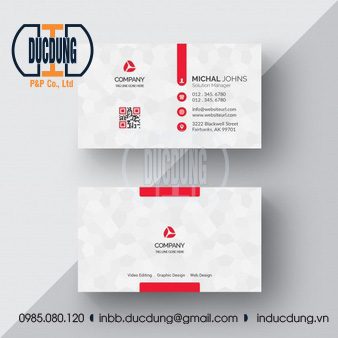 Card visit kinh doanh