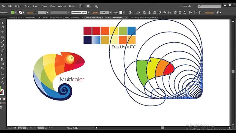 Tạo logo chuyên nghiệp với Illustrator