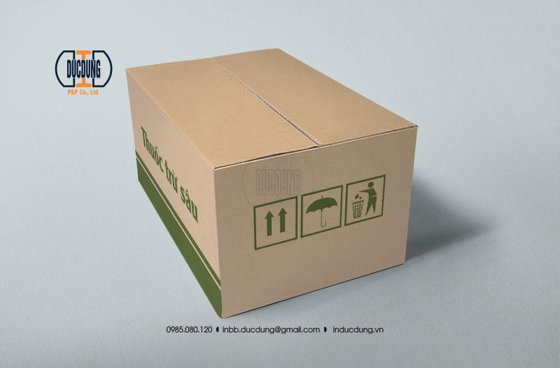 Hộp carton đựng hàng hoá