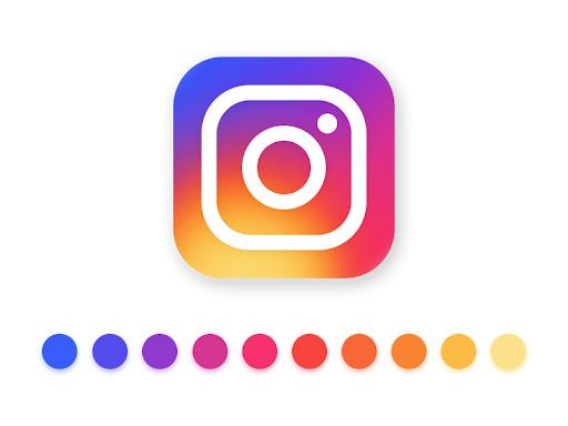 Logo gradient khác lạ của Instagram