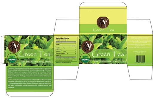 Thiết kế hộp trà với thông tin rõ ràng