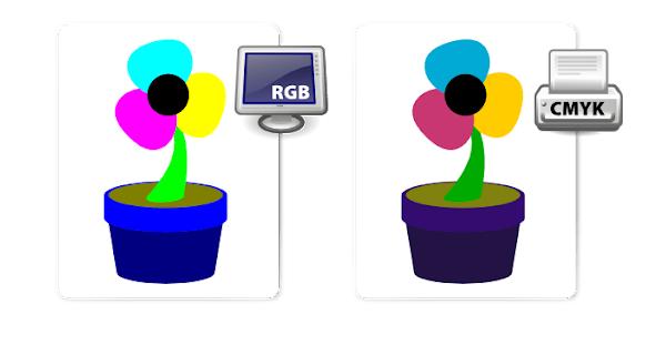 hệ màu trên file thiết kế