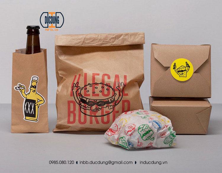 Túi không quai đựng thực phẩm